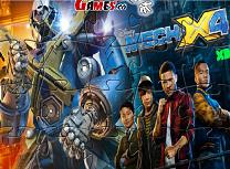 Mech-X4 Puzzle