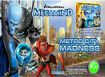 MegaMind Nebunie in Metro City