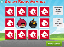 Memorie cu Angry Birds