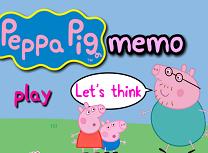 Memorie cu Purcelusa Peppa