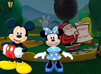 Mickey si Minnie Petrecere de Anul Nou