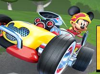 Jocuri cu Mickey si Roadster Racers