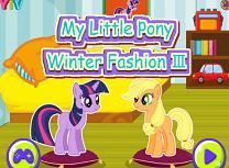 Micul Meu Ponei Moda de Iarna 3