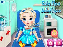 Micuta Elsa in Ambulanta