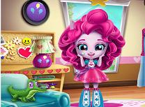 Micuta Pinkie Pie Decoreaza Camera
