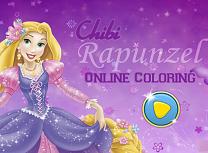 Micuta Rapunzel de Colorat