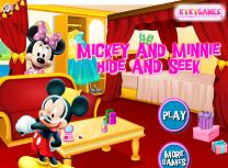 Mikey si Minnie De-a V-ati Ascunselea