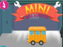 Mini Autobuzul la Service