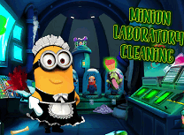 Minion Curatenie in Laborator