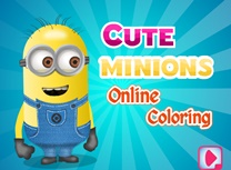 Minion Dragut de Colorat