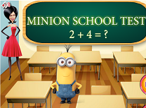 Minion Test la Scoala