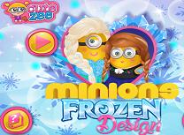 Minion cu Stilul Frozen