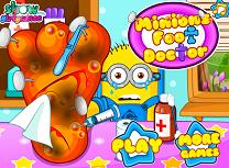 Minion la Doctorul de Picior