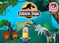 Minioni in Jurassic Park