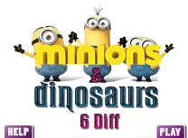 Minioni si Dinozauri 6 Diferente