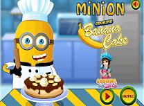 Minionul Gateste Prajitura cu Banane