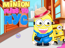 Minionul Zboara la New York