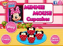 Minnie Mouse Face Briose