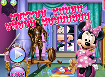Minnie Mouse Ingrijeste Casa