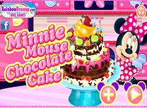 Minnie si Tortul de Ciocolata