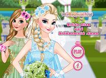 Mireasa Elsa si Domnisoara de Onoare Anna