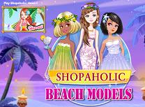 Modele pe Plaja