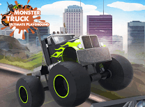 Monster Truck pe Terenul de Joaca