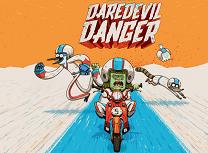 Mordecai si Rigby cu Motocicleta