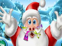 Mos Craciun Gripa de Iarna