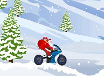 Mos Craciun Motociclistul