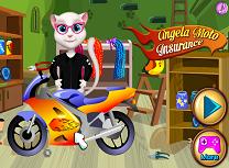 Motocicleta Angelei