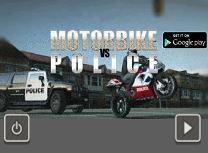 Motocicleta Vs Politie