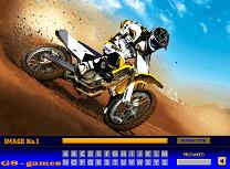 Motociclete - Litere Ascunse