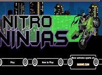 Motociclistul Ninja