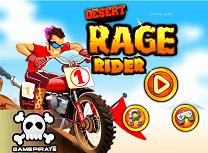 Motociclistul din Desert