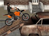 Motocross Acrobatic