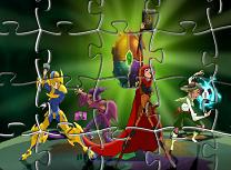 Mysticons de Facut Puzzle