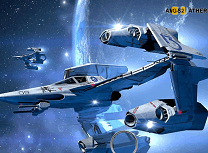 Nave Spatiale Litere Ascunse