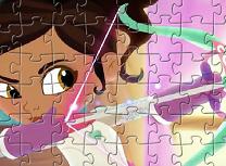 Nella Printesa Cavaler Puzzle