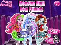 Noii Prieteni de la Monster High