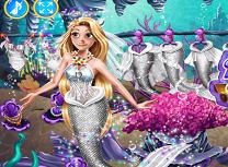 Nunta Sirenei Rapunzel
