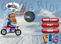 Obama cu Motocicleta