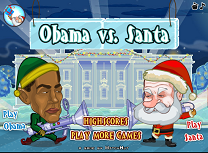 Obama vs Mos Craciun