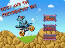 Oggy cu Motocicleta