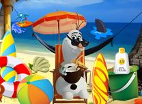 Olaf pe Plaja