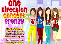 One Direction Nebunie la Concert