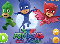 PJ Masks De Colorat