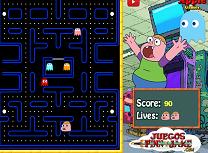 Pac Man cu Clarence