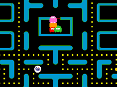 Pac Man cu Plum