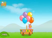 Pajanimals Curse cu Balonul